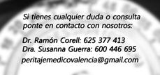 perito medico en Valencia contacto